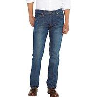 Levis 527 Slim Bootcut Jeans, Mid Blue
