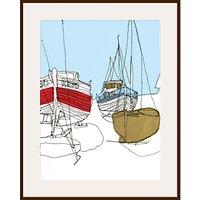 Gillian Bates - Boats on the Shore