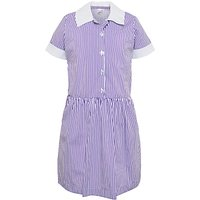 School Girls Striped Summer Dress