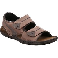 Josef Seibel Paul 04 Leather Sandals, Nut