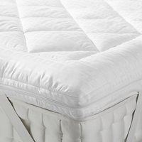 John Lewis Soft Touch Washable Mattress Topper