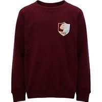 Tockington Manor School Sweatshirt, Maroon