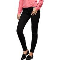 Paige Margot Ultra Skinny Jeans, Black Shadow