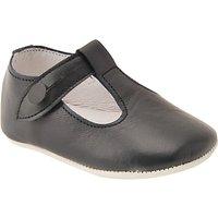 Start-Rite Baby Edward Leather Shoes, Black