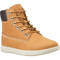 Timberland Childrens Groveton 6 Lace Boots, Brown
