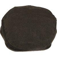 Barbour Cord Flat Cap, Olive