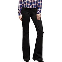 J Brand Maria High Rise Flared Jeans, Seriously Black