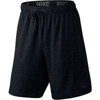 Nike 20.5cm Dri-FIT Fleece Training Shorts, Black