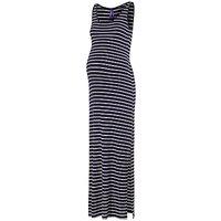 Sraphine Magda Maternity Stripe Maxi Dress, Navy/White