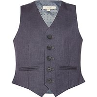John Lewis Heirloom Collection Boys' Suit Waistcoat, Grey