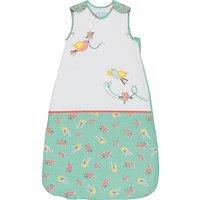 Grobag Floral Flutter Sleep Bag, 1 Togs, White/Multi , Multi, 0-6 months
