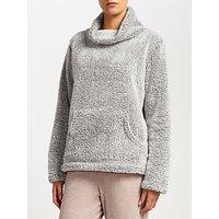John Lewis Snuggle Fleece Top, Grey
