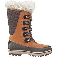 Helly Hansen Garibaldi Waterproof Leather Womens Boots, Brown