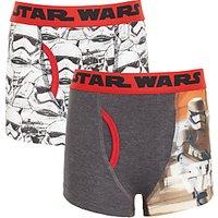 Universal Boys Star Wars Trunks, Pack of 2, Grey