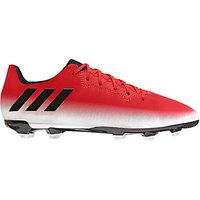 Adidas Childrens Messi 16.3 FG Football Boots, Red/White