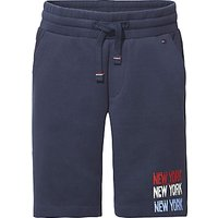 Tommy Hilfiger Boys Double Face Sweat Shorts, Navy