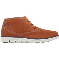 Timberland Bradstreet Lace-Up Leather Chukka Boots, Rust