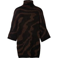 Selected Femme Dabby Jumper, Brown/Chocolate Torte