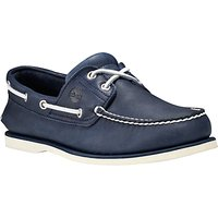 Timberland Nubuck Leather Boat Shoes, Blue