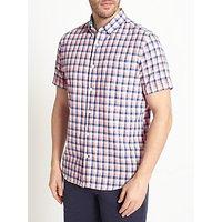 John Lewis Lincot Gingham Short Sleeve Shirt