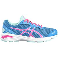 Asics Childrens GT-1000 5 GS Laced Trainers, Blue/Pink