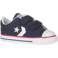 Converse Childrens Star Player 2V Shoes, Navy/White
