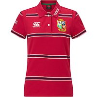 Canterbury of New Zealand British and Irish Lions Rugby Polo Shirt, Red