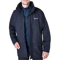Berghaus Cornice III GORE-TEX Interactive Waterproof Hooded Jacket, Blue