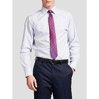 Thomas Pink Lipson Stripe Slim Fit Shirt, Blue/White