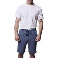 Hamilton and Hare Pique Cotton Crew Neck T-Shirt, White