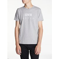 Edwin Japanese T-Shirt, Grey Marl