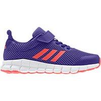 Adidas Childrens Rapida Flex Rip-Tape Trainers, Purple