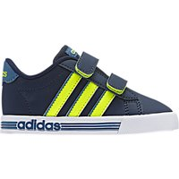 Adidas Childrens Daily Team Infant Trainers, Navy