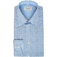 Ted Baker Nimph Leaf Print Tailored Fit Shirt