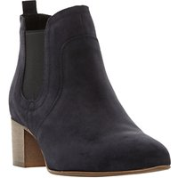 Dune Black Perin Pointed Toe Ankle Boots
