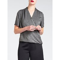 Bruce by Bruce Oldfield Faconne Shirt, Grey