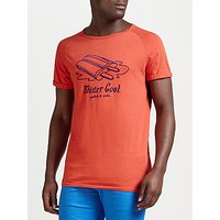 Scotch & Soda Mister Cool Ice Lolly T-Shirt, Blazing Red Melange