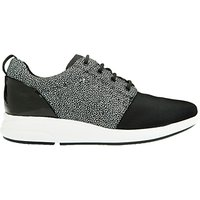Geox Ophira Leather Breathable Trainers