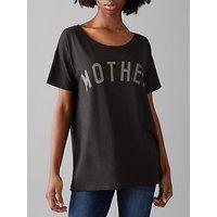 Selfish Mother Mother Original T-Shirt, Black/Grey