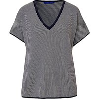 Winser London Cotton V-Neck Coco Top