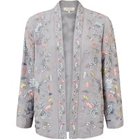 East Lavina Embroidered Jacket, Dove