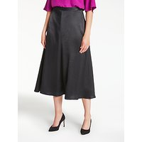 Bruce by Bruce Oldfield Midi A-Line Skirt, Black