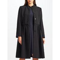 Bruce by Bruce Oldfield Long Crepe Coat, Black