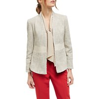 Jaeger Tweed Tailored Jacket, Beige