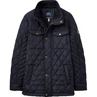 Joules Little Joule Boys' Junior Stafford Quilted Jacket, Navy