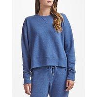 Polo Ralph Lauren Fleece Round Neck Sweatshirt, Blue Heather