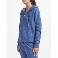 Polo Ralph Lauren Fleece Full Zip Hoodie, Blue Heather