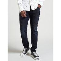 Scotch & Soda Ralston Slim Fit Jeans, Black and Blue