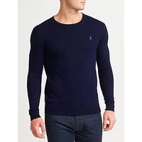 Polo Ralph Lauren Slim Fit Pima Cotton Crew Neck Jumper