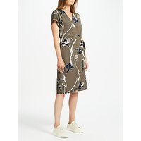 Minimum Gunna Printed Dress, Olive Night